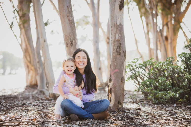 FAMILY photos: Scripps Woods + Beach