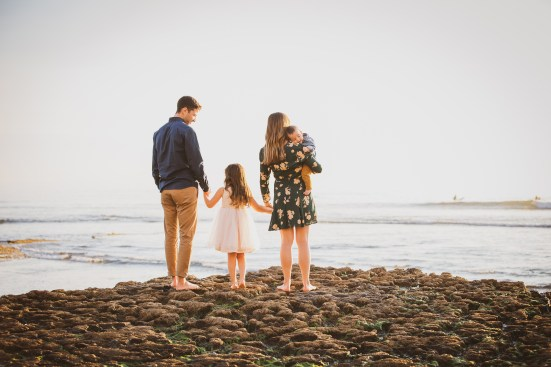 FAMILY photos: Swami's Beach, Encinitas