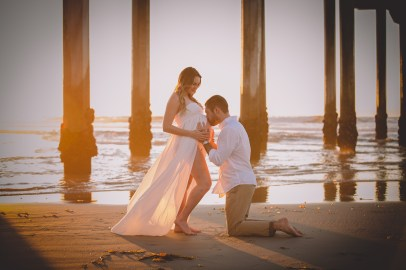 MATERNITY photos: Scripps Beach