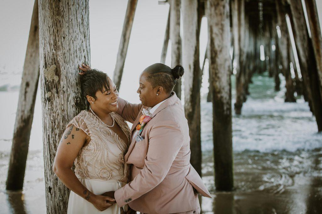 WEDDING photos: San Diego Beach Wedding, Imperial Beach, California