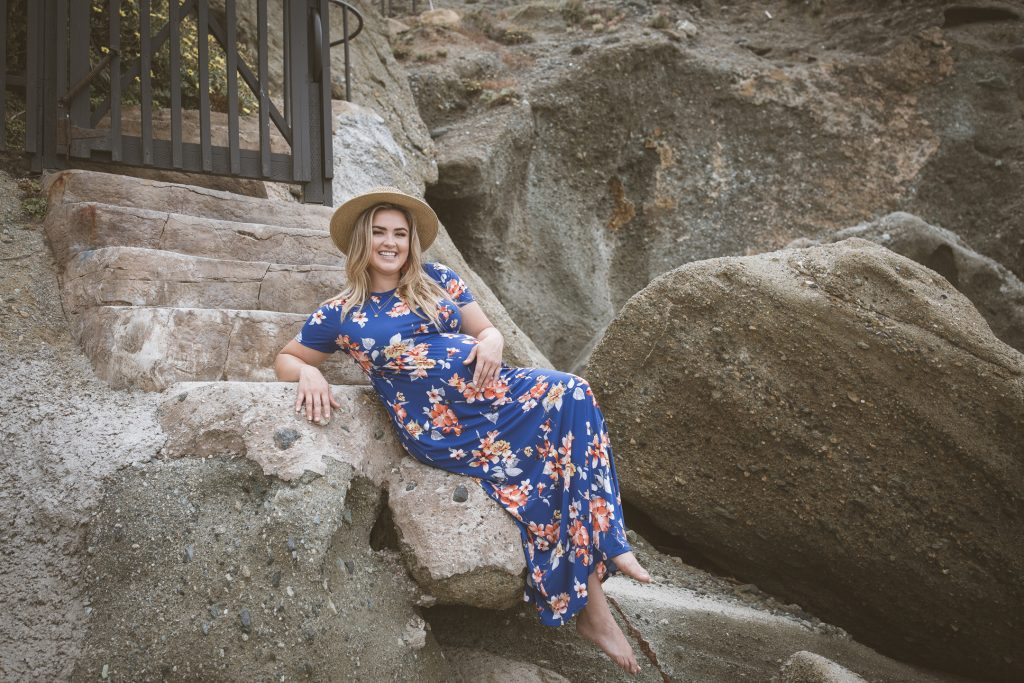 COMMERCIAL photos: PinkBlush Maternity Maxi Dress