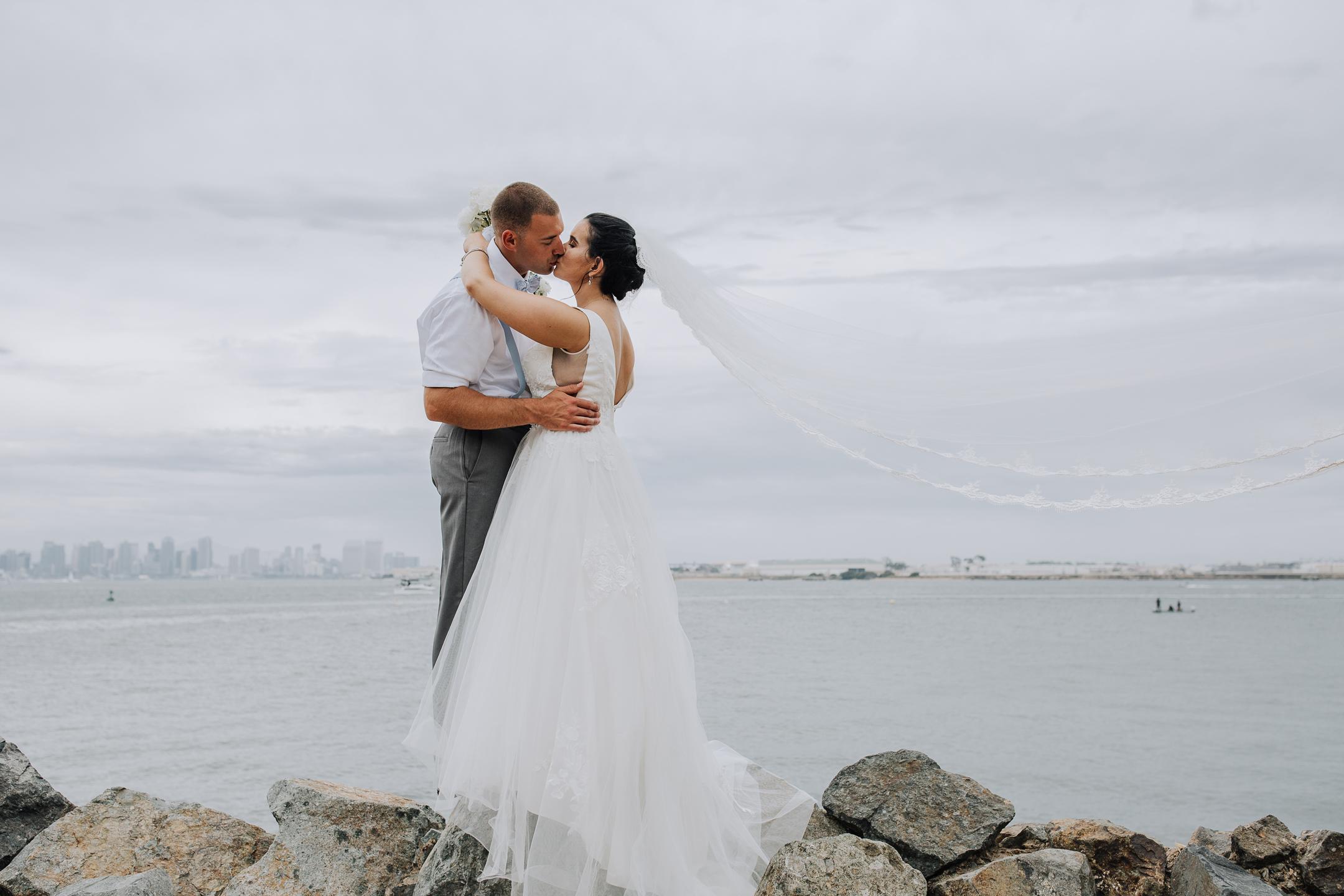 WEDDING photos: Bali Hai Restaurant, San Diego