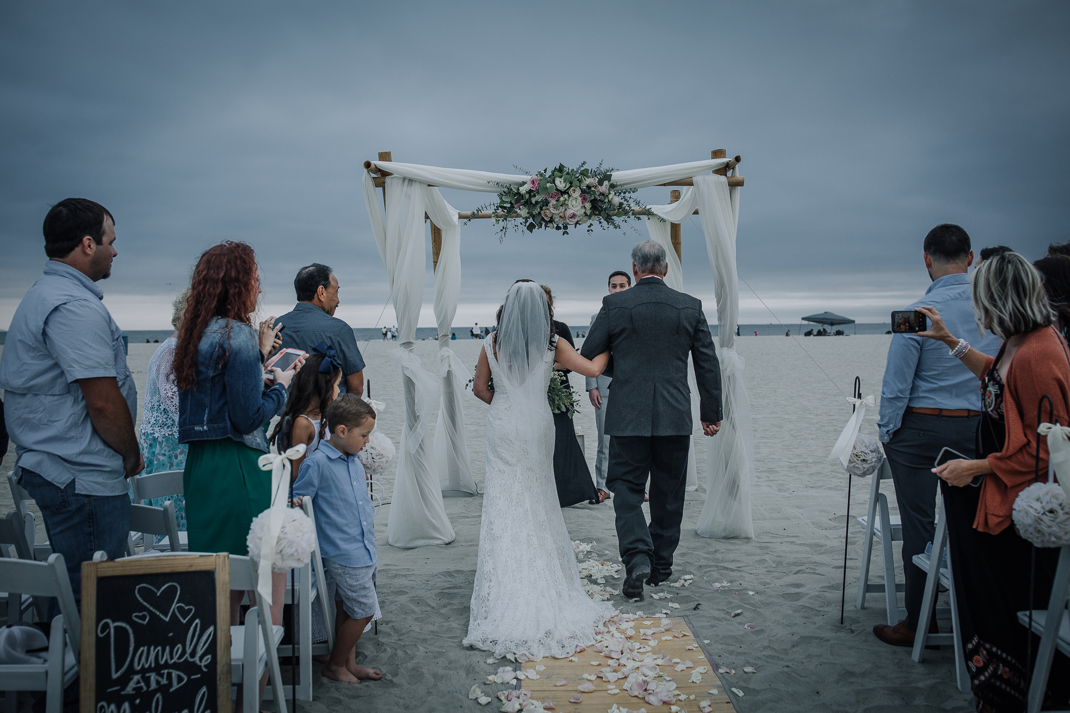 WEDDING photos: Coronado Beach Dunes
