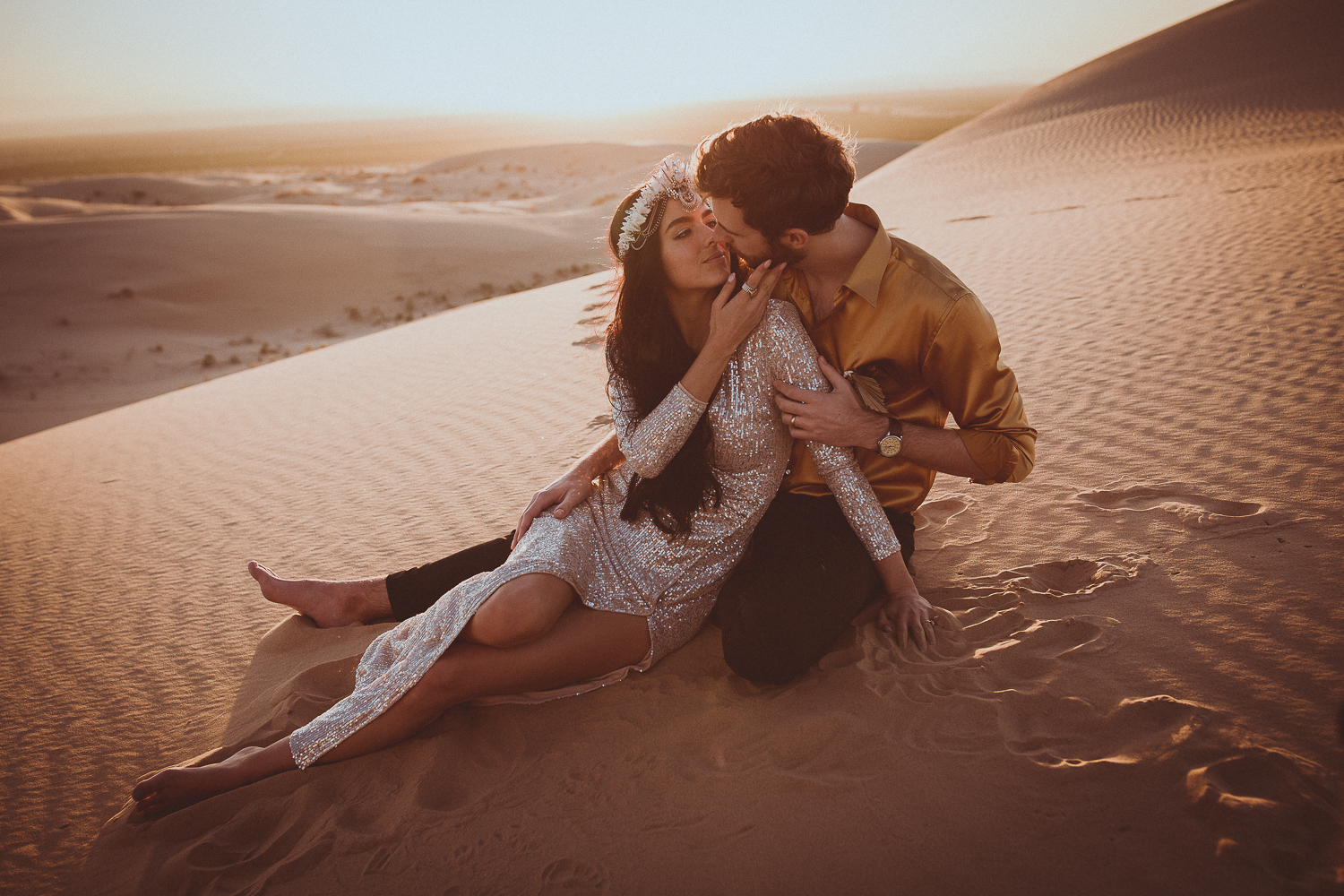 desert dunes elopement photographer