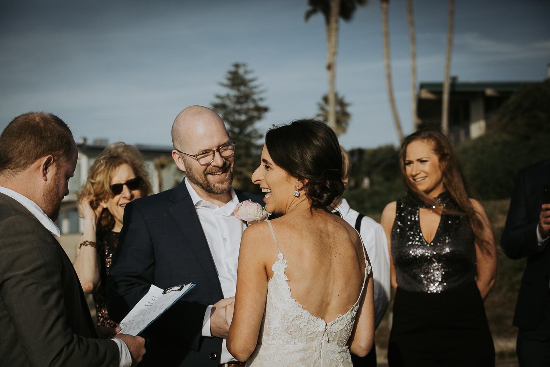 San Diego Beach Elopement Wedding