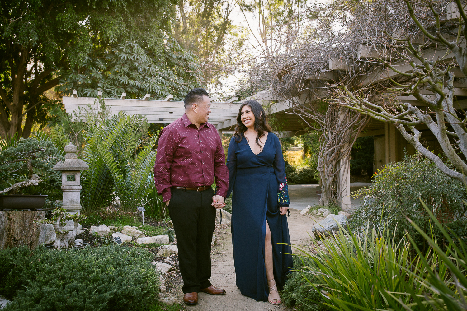 South Coast Botanic Garden Engagement Photos