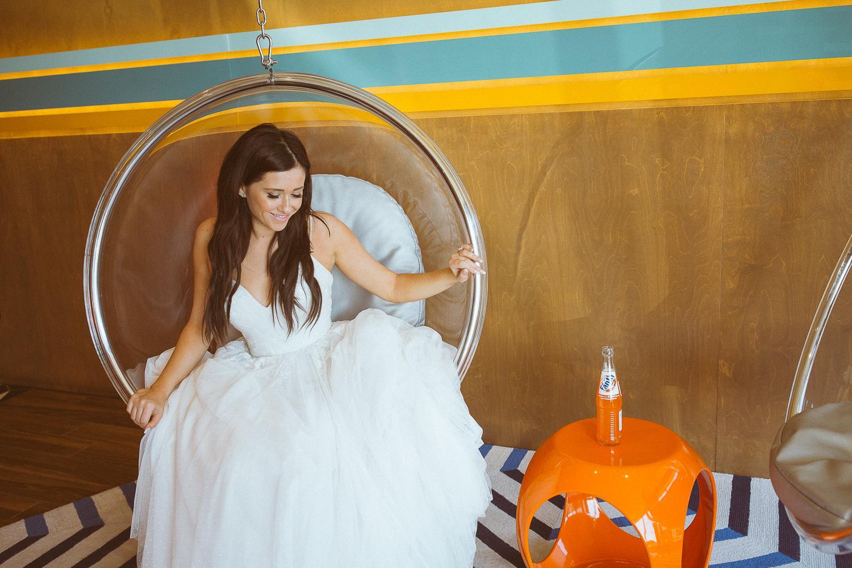 Cool girl bride