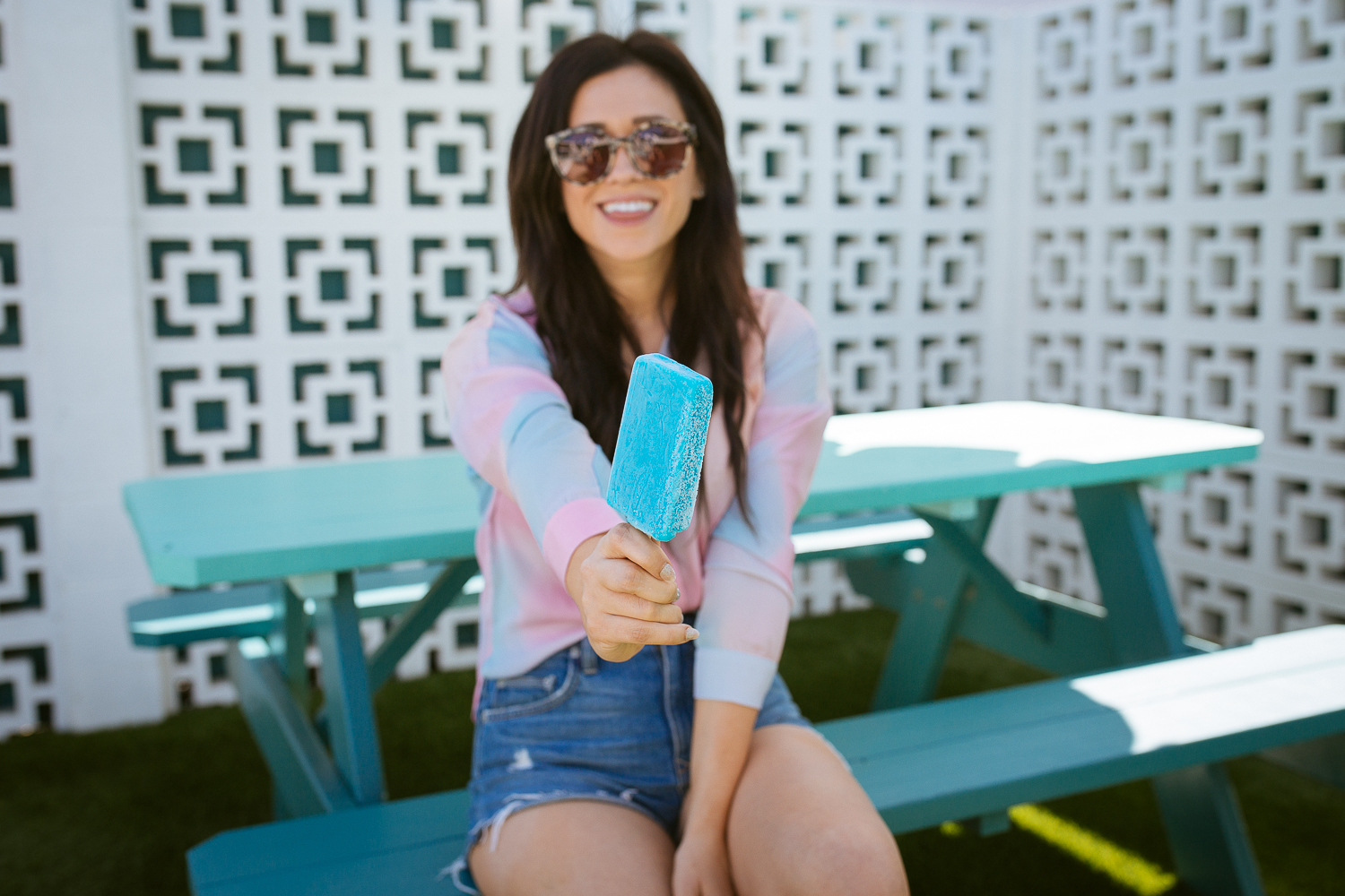popsicle poolside