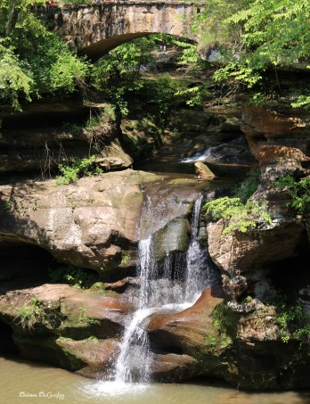 Waterfall in Hocking Hills, OH
