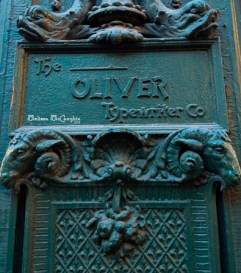 The Oliver Typewriter Co; Chicago