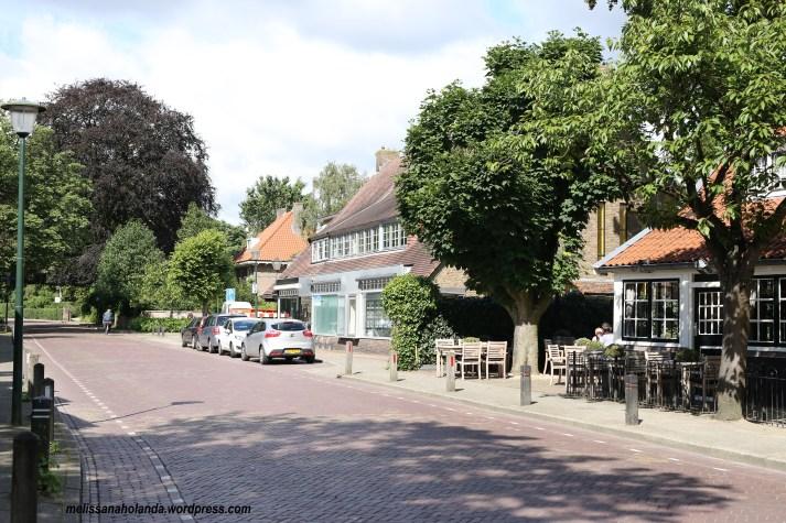 Rua de Blaricum na Holanda