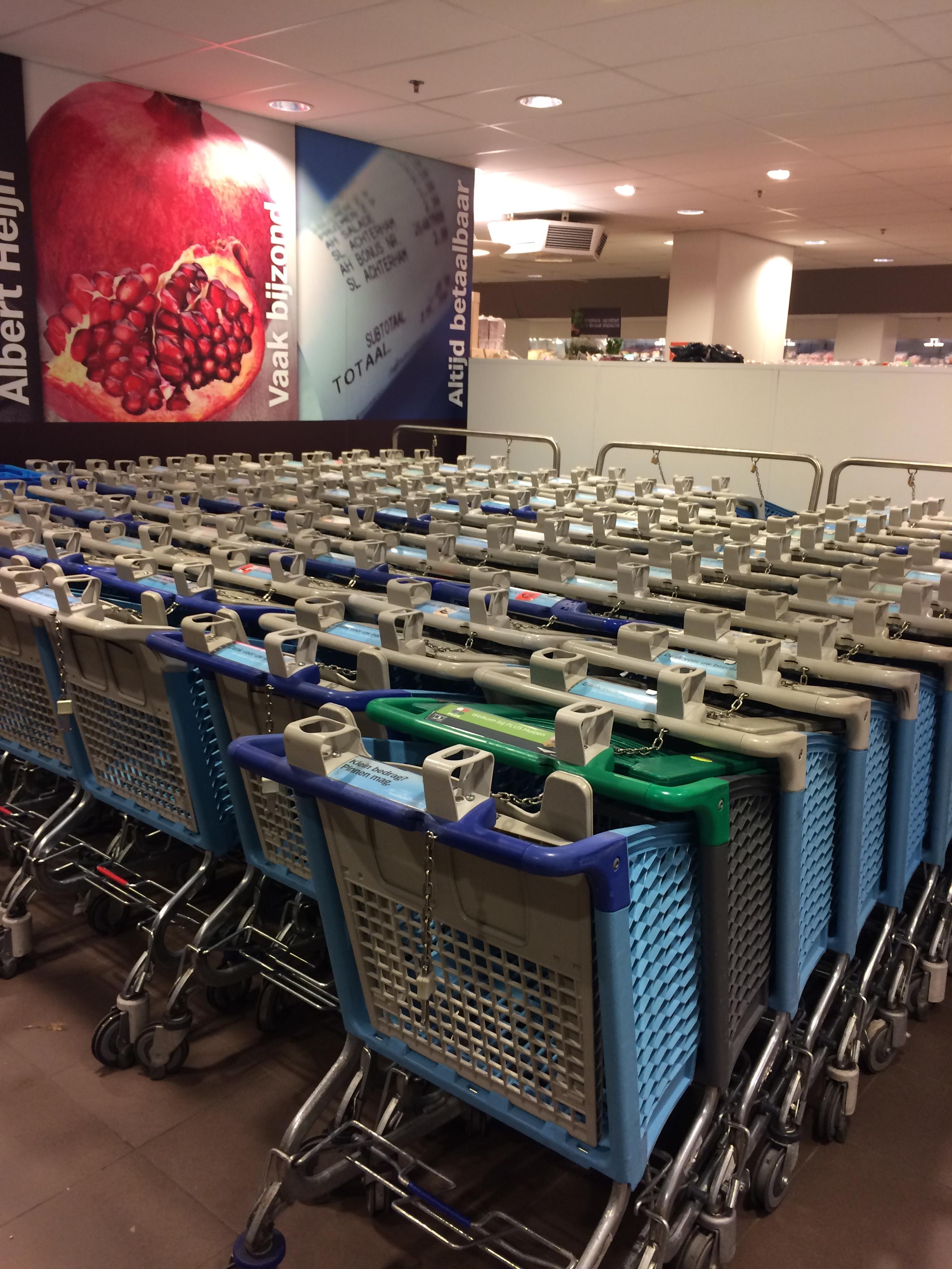 Vamos ao supermercado na Holanda?