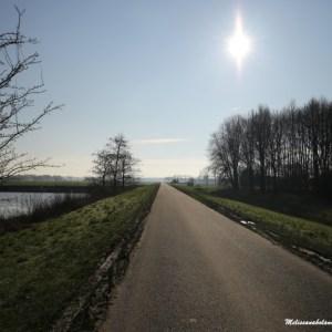 sol com frio em Lelystad