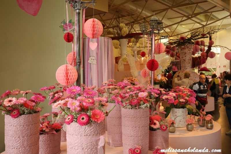 Imagens das flores do parque Keukenhof na Holanda