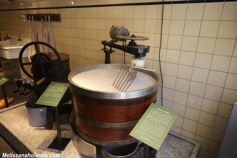 Fabrica de queijo em Volendam