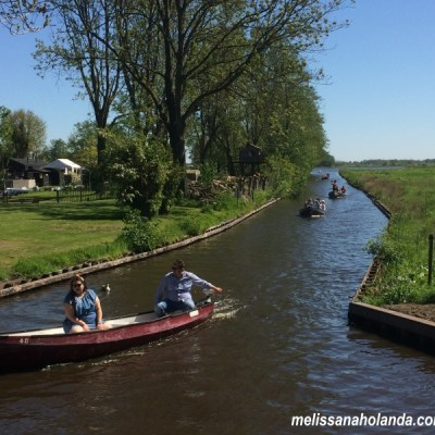 Giethoorn Canal aberto