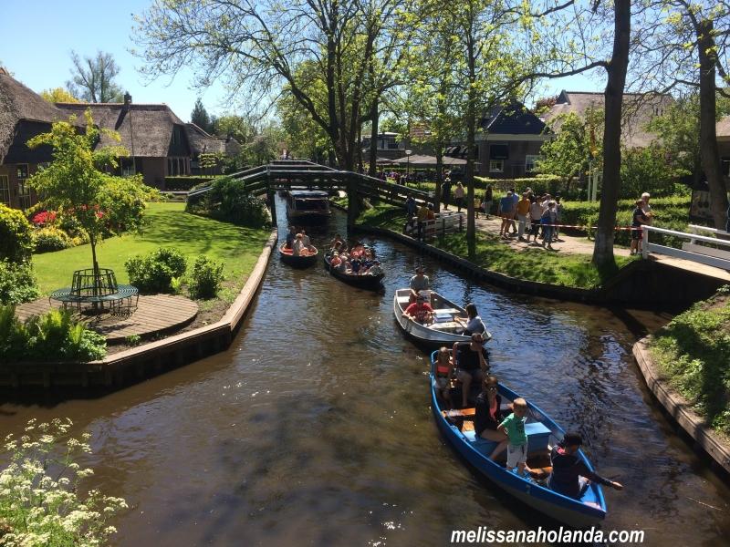 Giethoorn - barcos