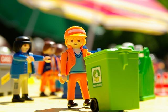 Reciclagem de lixo na Holanda