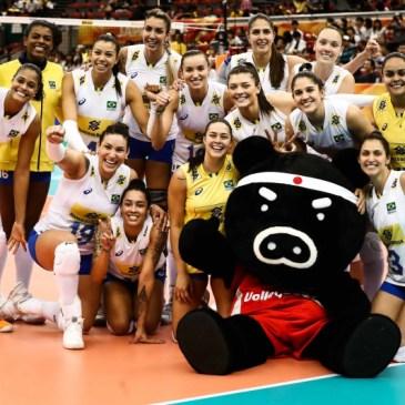Brasil x Holanda no vôlei feminino