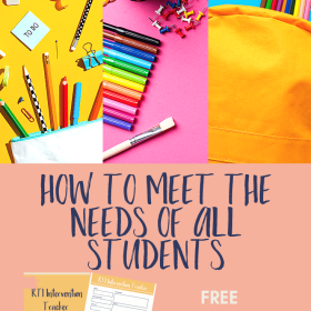 How to Meet the Needs of All Students