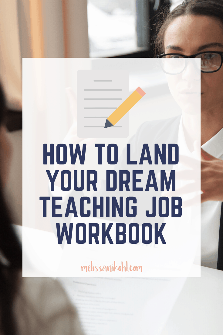The How to Land Your Dream Job Workbook is just what you need to prepare to get a new gig. Whether you are months or weeks away from applying to new schools, this workbook will prepare you to show off your skills and get the job you want!