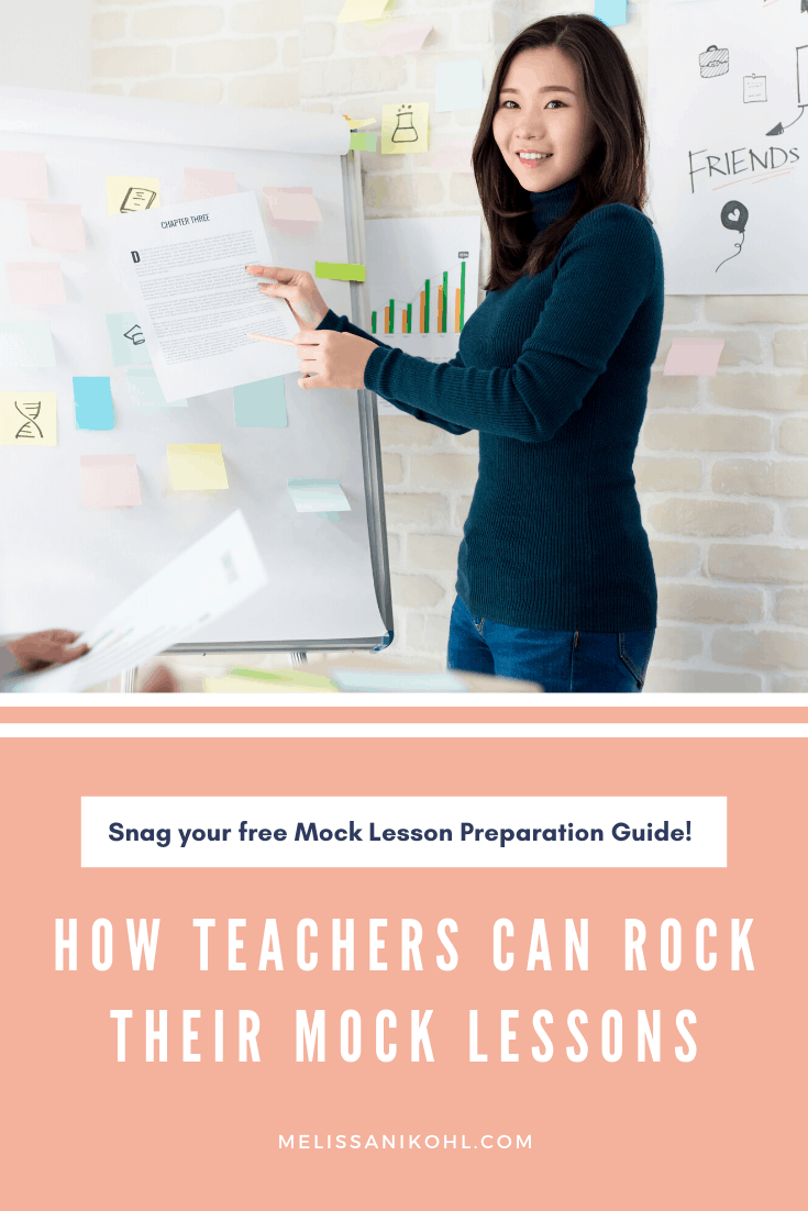 How Teachers Can Rock Their Mock Lessons