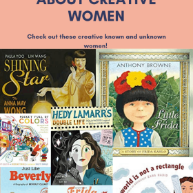 These picture books of women contain some of the most creative women in history. Learn all about some known and unknown women in history. These picture books are the perfect books for Women's History Month. #picturebooks #diversepicturebooks