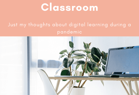 This blog post is about how I feel about my digital classroom. If you