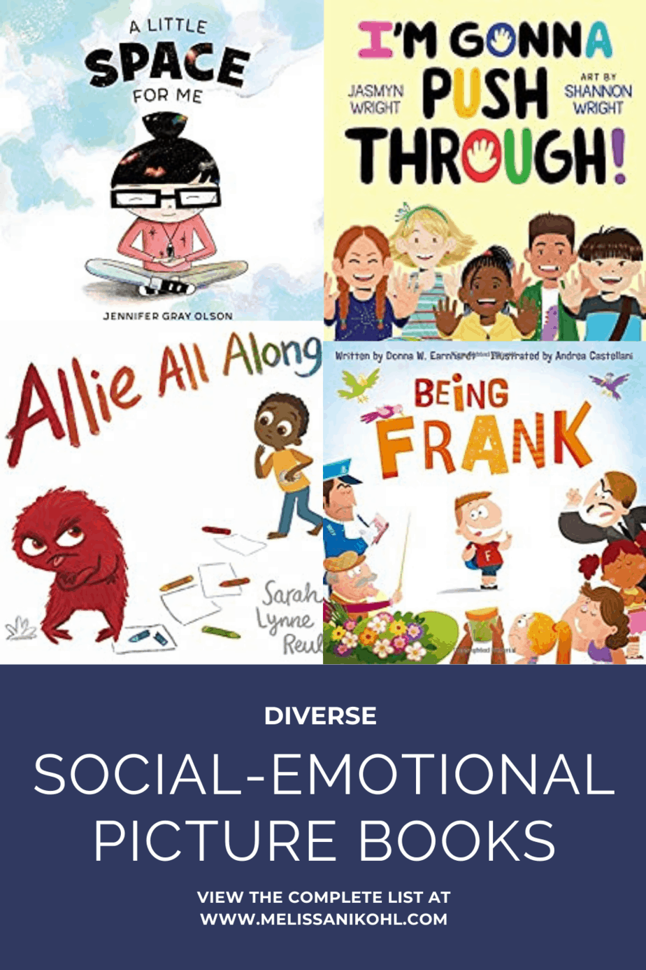 Check out these diverse social emotional picture books.
