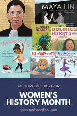 Check out these picture books perfect for Women's History Month.