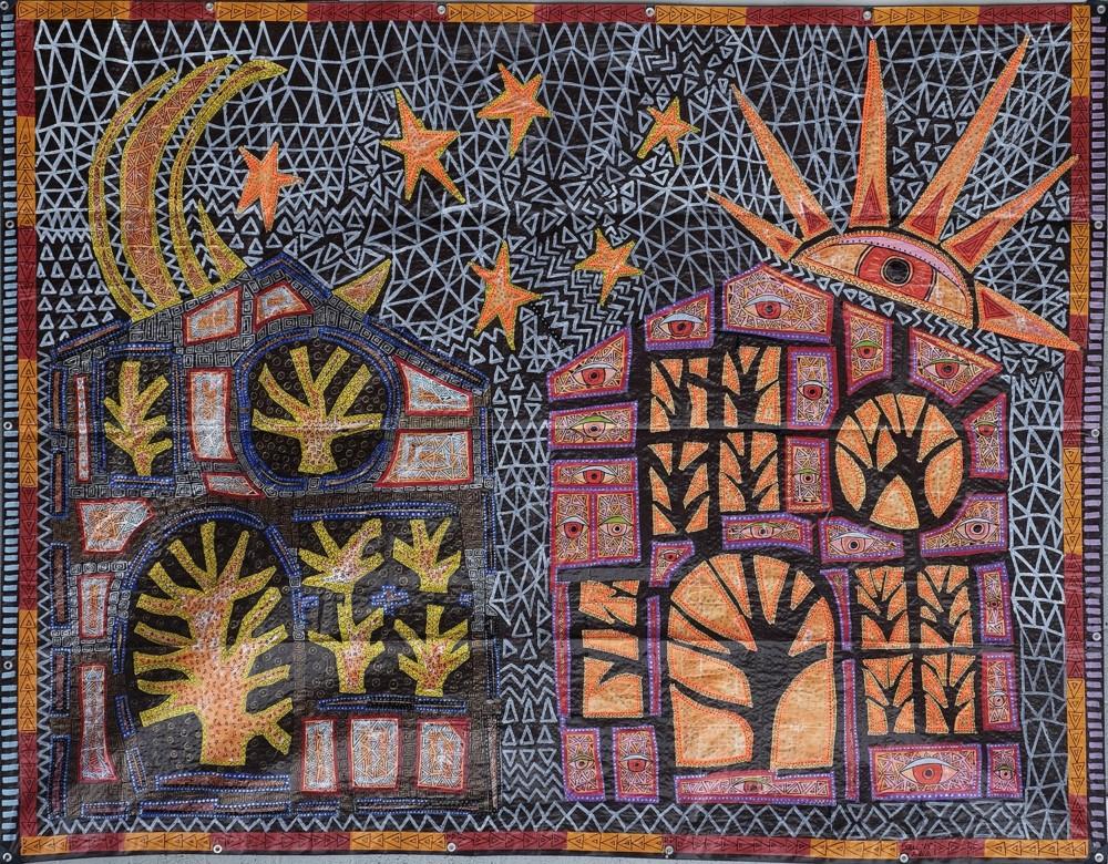 ©2019 Melissa 'Sasi' Chambers - tarpage - Treehouses of the Rising Sun