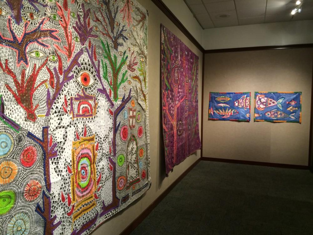 """""""Tarpestries"""" -- Sasi's Solo Exhibition at Boise State University"""