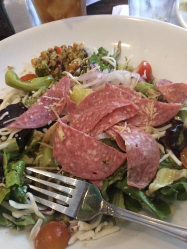 Italian salad at Katie's