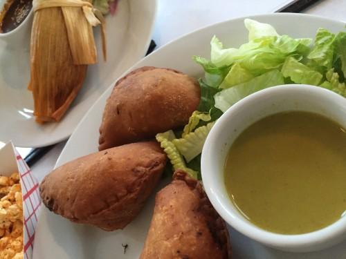 Empanadas at El Pavo Real