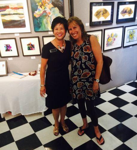 Ann Sorenson and Melissa Chambers @ Art Source