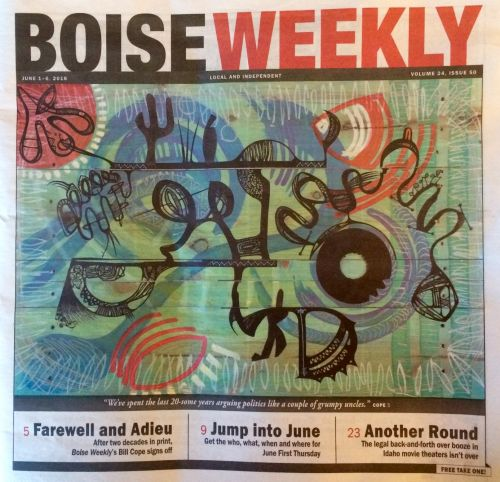 Tomas Montano's Boise Weekly Cover