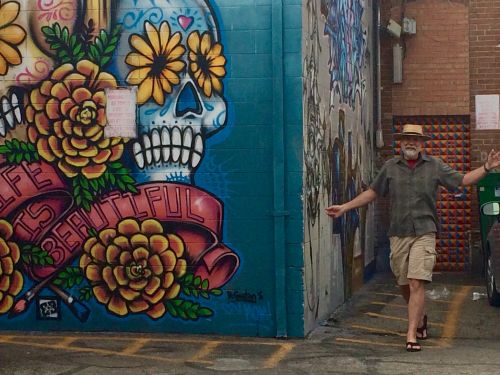 Mike Chambers in Freak Alley