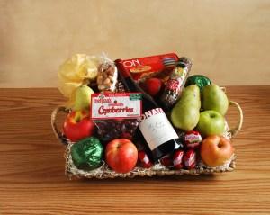 Red Wine Gift Basket V2a