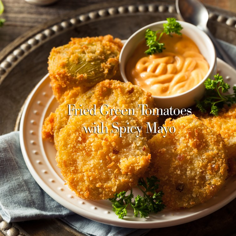 Homemade Fried Green Tomatoes