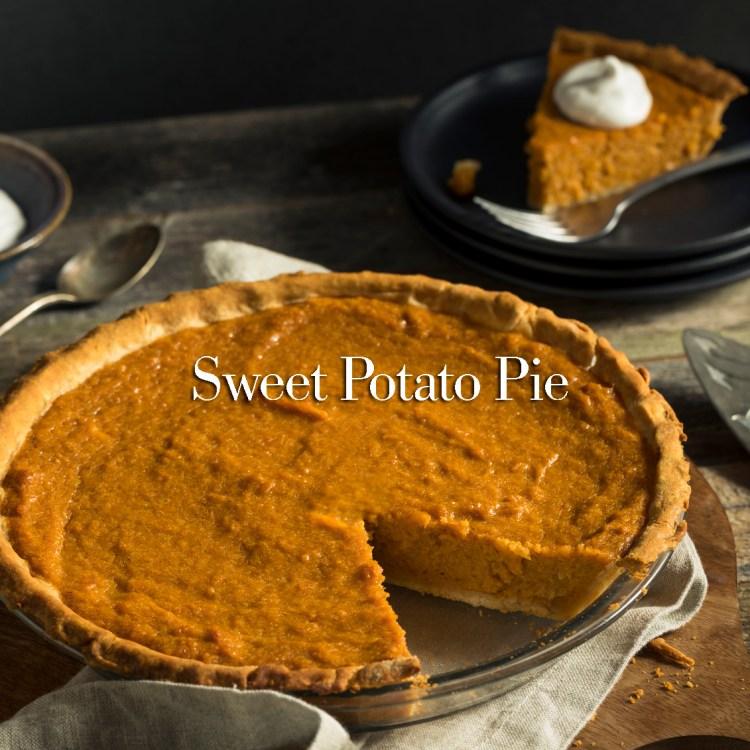 Homemade Festive Sweet Potato Pie