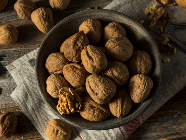 Raw Brown Organic Walnuts