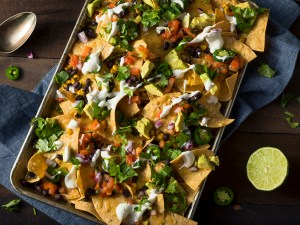 Homemade Loaded Sheet Pan Nachos