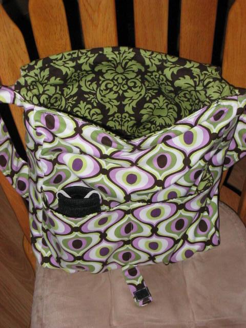 Amy Butler High Street Messenger Bag InnerFront