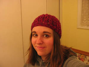 Ribbed LaceHat