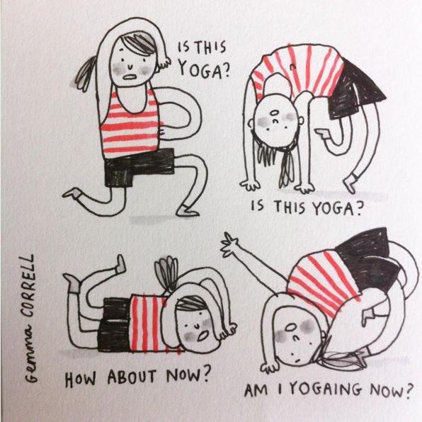 Yoga Comic Gemma Correll