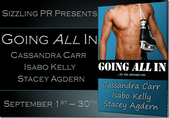 Going All In - Cassandra Carr - Banner