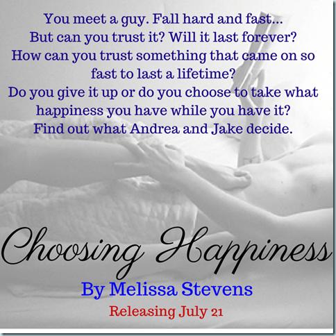 Choosing Happiness (1)