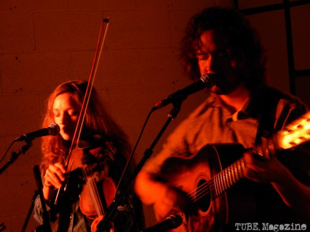And here is the other half of Mandolin Orange, Emily Frantz.