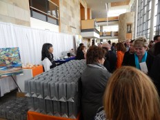 Neiman Marcus, the main sponsor of the event, gave gifts to the attendees. All 400+ of them!
