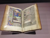 Illustrated Bible in the Treasures of the British Library exhibit.